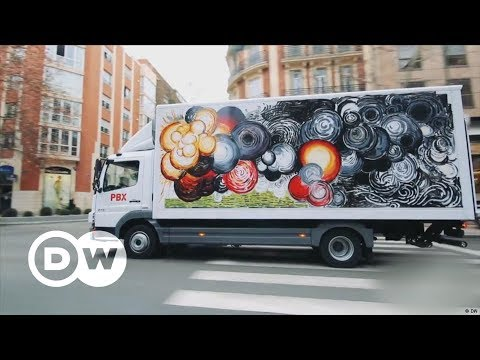 Art trucks over the open road | DW English