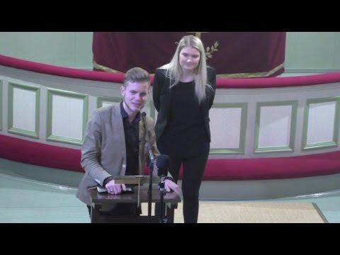 Patrick Tiainen - Luomakunta odottaa... - Tuusula 19.1.2017 - YouTube