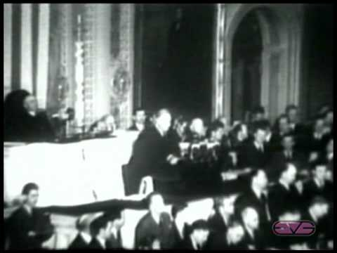 "President Franklin D. Roosevelt - Declaration of War Address - ""A Day Which Will Live in Infamy"""
