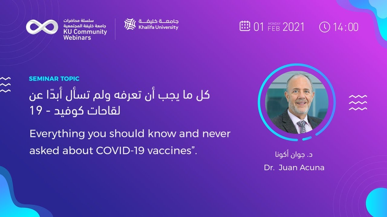 Everything you should know & never asked about covid-19 vaccines by Dr. Juan Acuna
