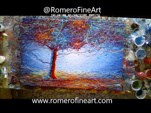 Awesome Dripped Abstract – Time lapse – Art – Painting