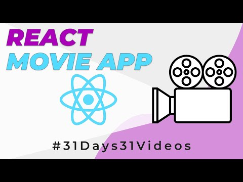 Build a Movie APP With React | React Tutorial for Beginners