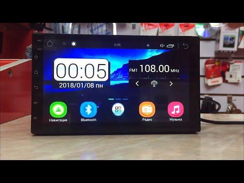 2DIN магнитола на Android 8.1. Самая дешевая Android магнитола