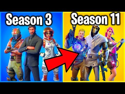 ALL 10 FORTNITE BATTLE PASSES RANKED WORST TO BEST!