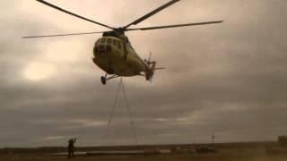 Ми-8 с подвеской Коми Макариха