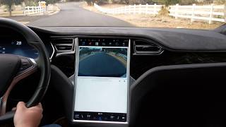 Model S Sound Level 30 MPH Smooth Side Street