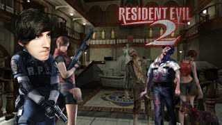 ZOMBIES POR TODAS PARTES! Resident Evil 2 - [LuzuGames]
