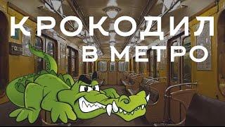 Крокодил в метро. Новый Год 2015