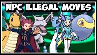 Pokeology Facts: Game Errors - Illegal Moves On NPC Pokemon