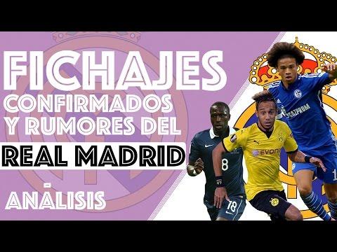 Fichajes Confirmados y Rumores del Real Madrid  | Julio - Agosto | Temporada  2016-2017