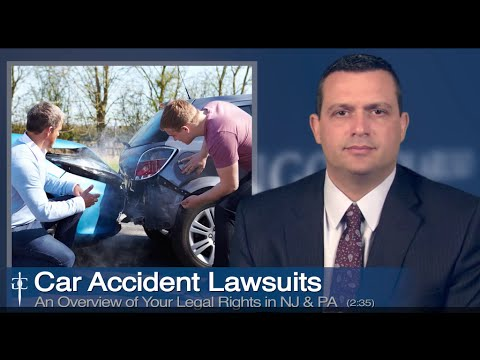 New Jersey Car Accident Lawyer | Auto Accident Claims