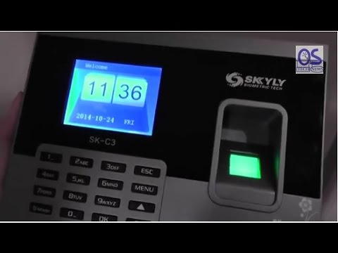 REVIEW: Biometric Fingerprint Attendance Recorder (Skyly Sk-C3)