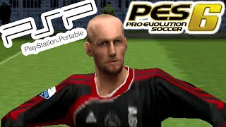 A Look @ PES 6 on PSP!