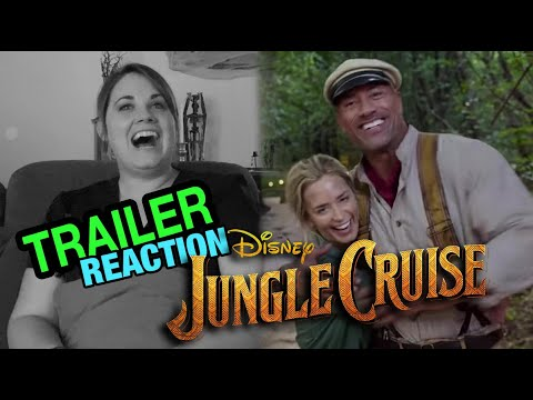 DISNEY'S JUNGLE CRUISE - FULL TRAILER | REACTION & REVIEW