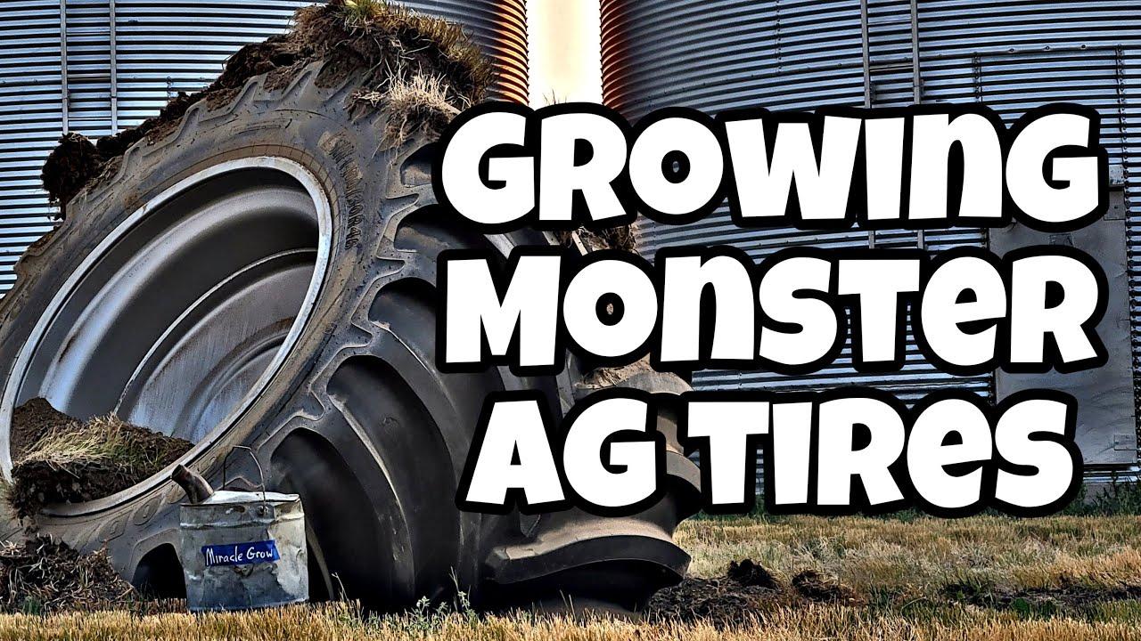 World's LARGEST Farm Tire - Round 2