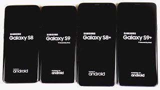 samsung galaxy s9 vs galaxy s8 comparing the screen to body ratio