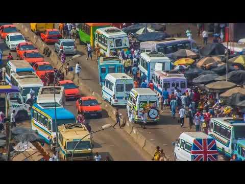 Abidjan in Motion 4K   Côte d'Ivoire