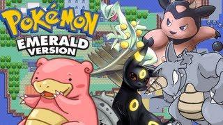 Pokemon Emerald 3rd Gen VBA Link RSE Battle| Monster Miltank, Sylveon, & Super SLOWbro (BL)