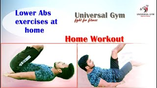 Lower abs exercises at home | universal ...