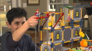 SUPER MARIO: Bowser's Castle Building Set by K'NEX