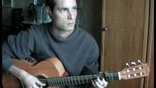 Непогода (из к/ф Мэри Поппинс) на гитаре.