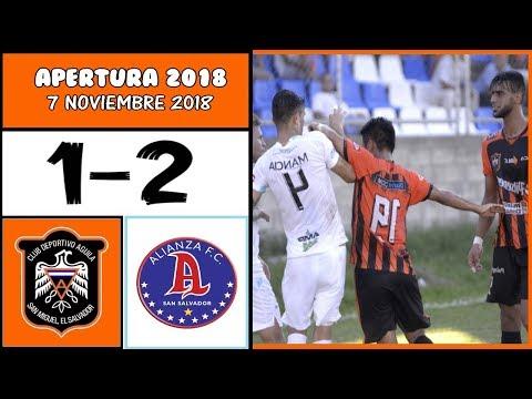 CD Águila [1] vs. Alianza FC [2] FULL GAME: 11.7.2018: ES Apertura 2018