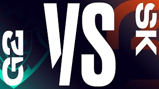 Game TV Schweiz - G2 vs. SK - Week 3 Day 1 | LEC Summer Split | G2 Esports vs. SK Gaming (2020)