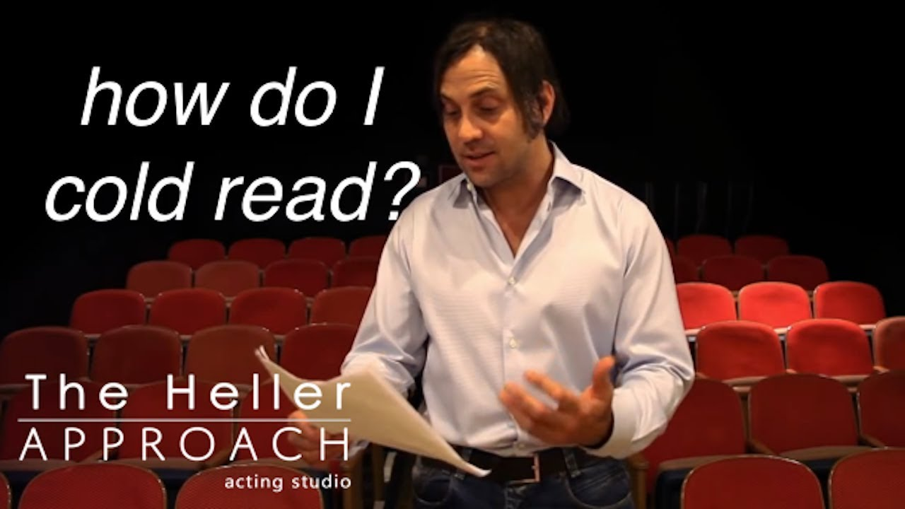 FREE ACTING LESSON: How To Cold Read