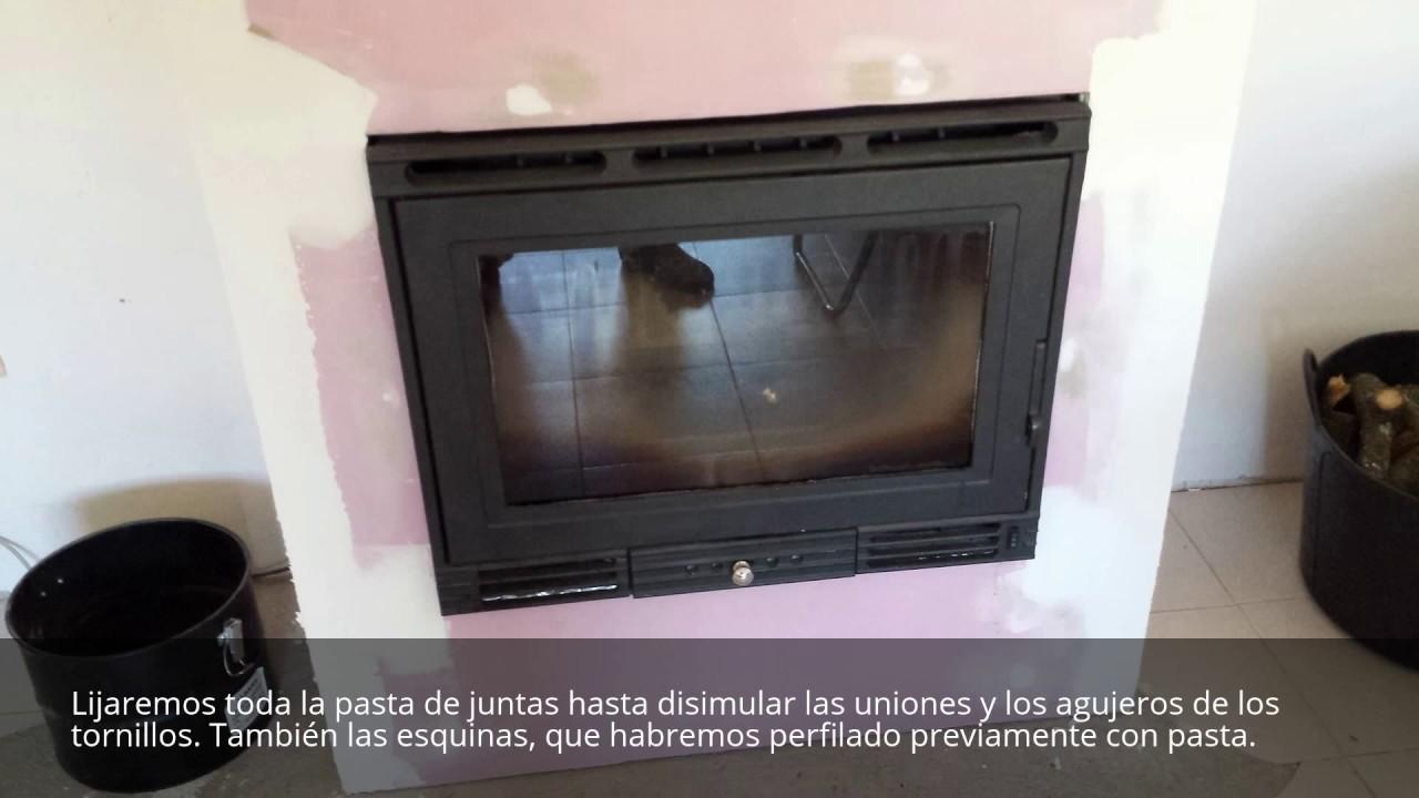 Construcci n de chimenea para insert con pladur youtube for Chimeneas metalicas precios