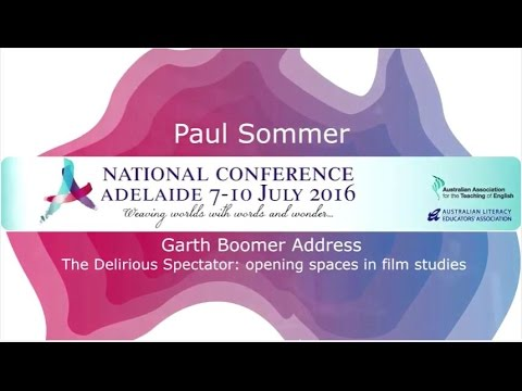 2016 Garth Boomer address by Paul Sommer