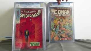 cgc graded and slabbed collection