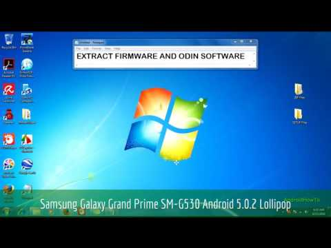 How to Update Samsung Galaxy Grand Prime SM-G530H to Android 5.0.2 Lollipop