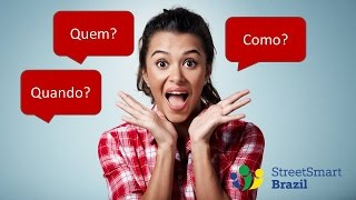Baixar Question Words in Portuguese: Who, When, and How