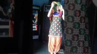 What a dance by village girl....?