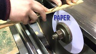 A4 Paper cut wood, You can do it, life hacks, A4용지로 나무 자르기,종이,생활해킹