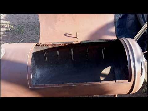 Мангал своими руками из газового баллона-обозрение