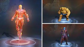 MARVEL Super War bổ sung 3 hero mới: Human Torch, The Thing và Yondu