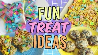 Buzzfeed/Tasty Treat Recipes! Fun & Easy Ideas!