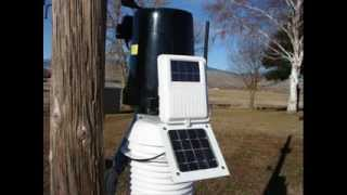 vantage pro2 solar powered wireless weather station w solar radiation outdoor weather station