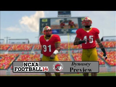 NCAA Football 14 Dynasty - Tampa Spartans Preview