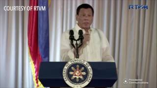 Duterte to police: Read book on priests' abuses