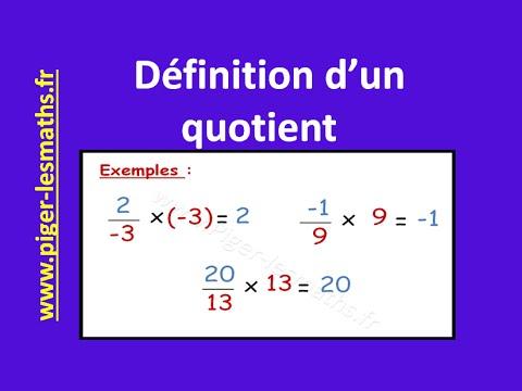 d233finition dun quotient math 4232me pigerlesmaths youtube