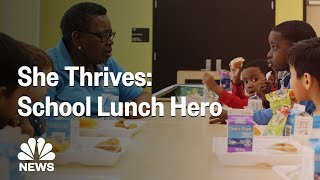 How Betti Wiggins, 'Head Lunch Lady,' Helps Students Learn About Nutrition | NBC News