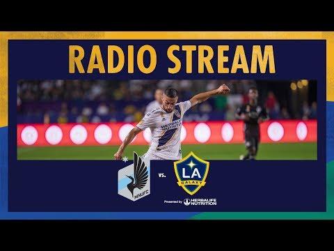 LA Galaxy At Minnesota United FC | Radio Live Stream