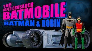 Spin Master Creature Chaos Batman Robin and 2 in 1 Batmobile