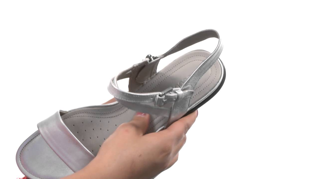 d22ac1ef4a75b ECCO Touch Ankle Sandal SKU 8636247 - YouTube