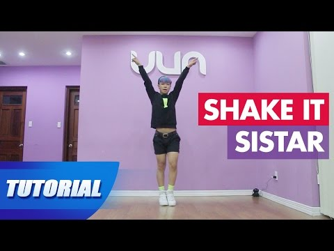 Tutorial Mirror | Dạy nhảy SISTAR - Shake it | Panoma Dance Crew