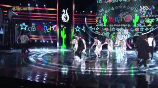 Block B - Her Live @ Seoul International Drama Awards [140904]