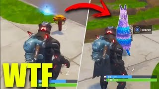 TIRA A LAPA AND SALE A CALL!! HACK OR BUG?? Reacting - Fortnite