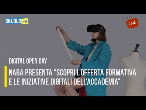 """Digital Open Day con NABA: """"Scopri l'offerta formativa e le iniziative digitali dell'Accademia"""""""